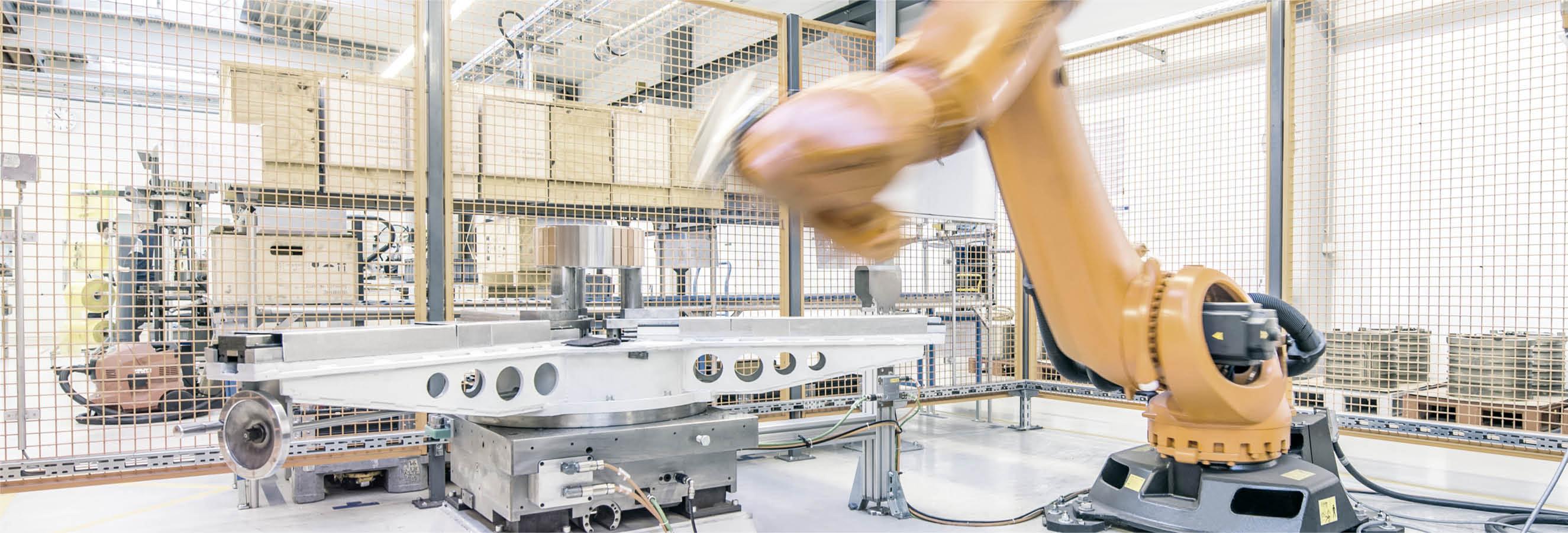 Kessler Automatisiertes Rotor-Magnetkleben